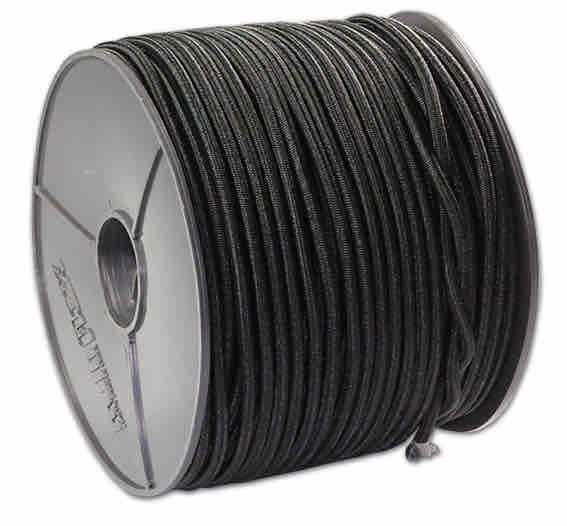 Expanderseil 6mm schwarz | Bannergummi | Gummiseil 12mm | Expander | Spanngummi schwarz | Haken für Gummiseil | Planen Seil | Spanngummi Set |