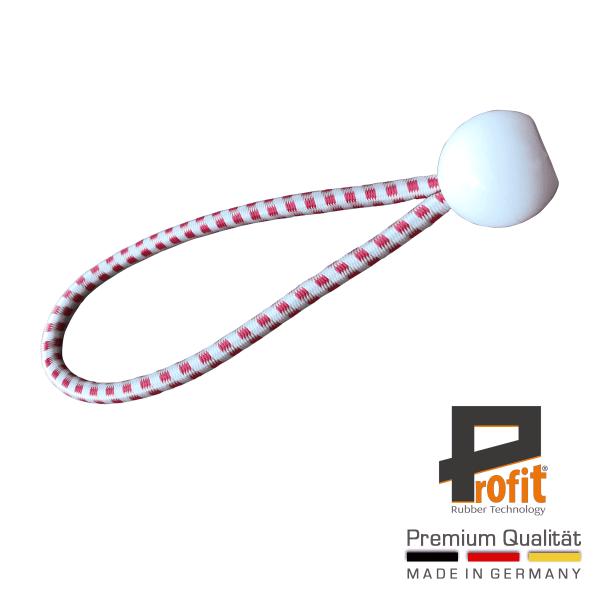 Caoutchouc expansé avec boule blanche 250mm | Harnais expansé | Edition Autriche | Harnais expansé | Profit Rubber Technology