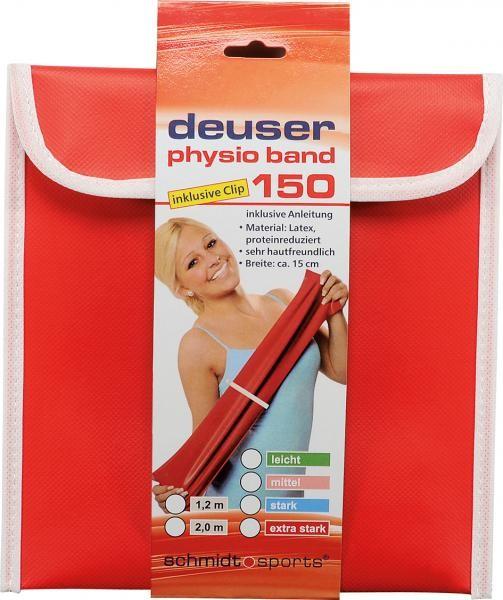 Deuser Physioband 150mm x 2,4m Bleu/Fort