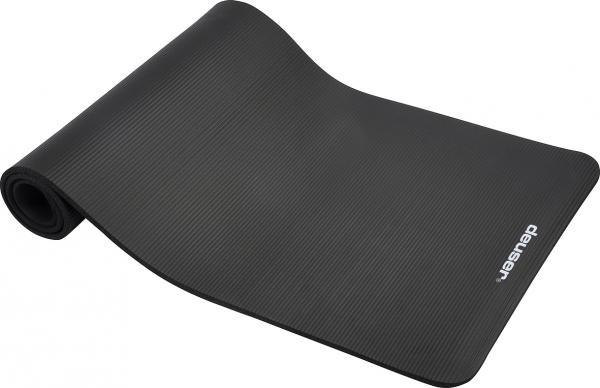 Tapis de gymnastique | Noir | 182 x 61cm | Mousse |