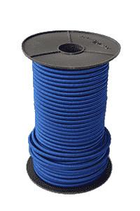 Expanderseile - Spanngummi 100 Meter - Farbe blau - 6mm | Spanngummiseil | Spannschlaufe | Profit |