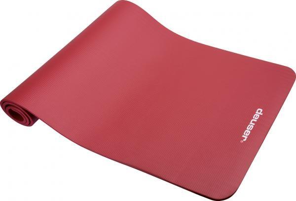 Tapis de gymnastique | Rouge | 182 x 61cm | Mousse |
