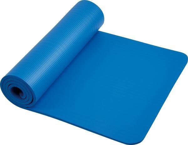 Tapis de gymnastique | Bleu | 182 x 61cm | Mousse |
