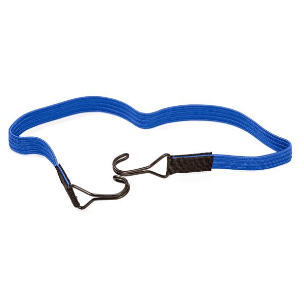 Sangle élastique avec 2 crochets doubles | www.spanngummishop.de | Caoutchouc de tension avec 2 crochets | Fixation du chargement