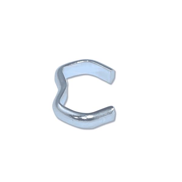 Stahlklammer | Krampe | Metallklammer für Expanderseil | Seilklemme | Klammer | Seilklemmen | Krampen