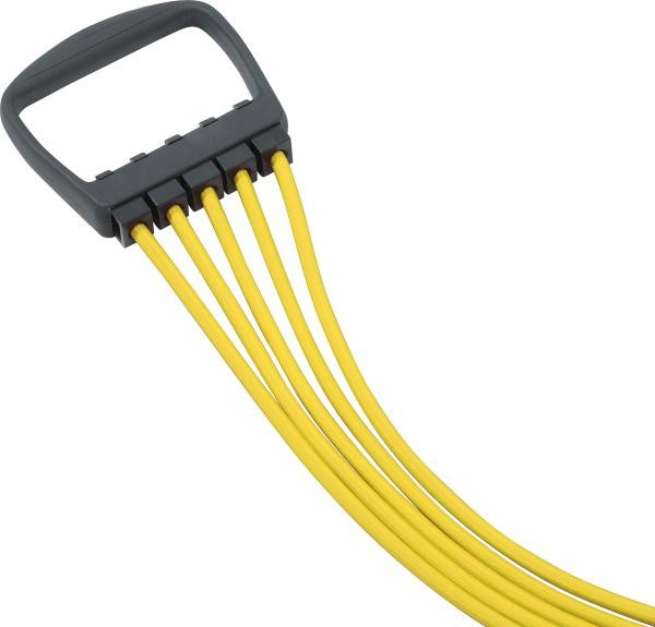 Expander   Yellow   5 String   10 - 50 kg   Fitness   Sport  