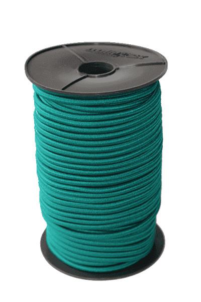 Expanderseil grün 10mm | Haken für Gummiseil | Planen Seil | Edelstahlklammer | Flachband | Bannergummi |